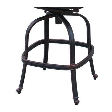 patio bar stool set of 4 elizabeth cast aluminum outdoor