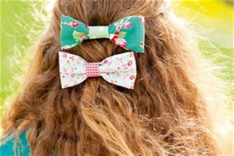 Hängele Selber Basteln by Haarspange Mit Schleife Haarschmuck Selber Machen