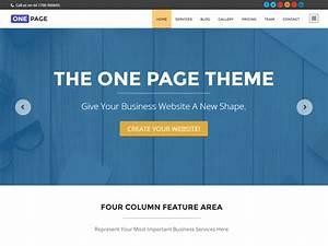 30 Best Free One Page WordPress Themes 2016 AThemes