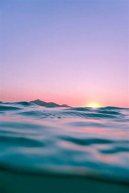 Sunset Purple Unsplash Calm Water Golden Hour