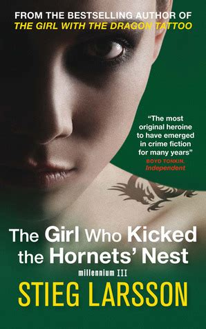 girl  kicked  hornets nest millennium   stieg larsson reviews discussion