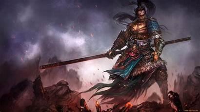 Fantasy Warriors Warrior Artwork Wallpapers Chains Background