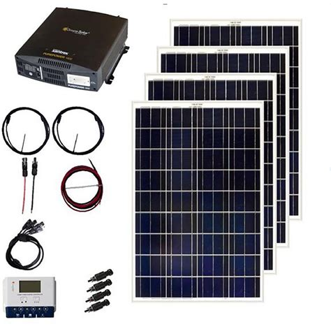 grape solar  watt  grid solar panel kit gs  kit