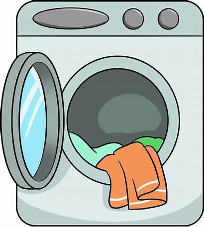 Clipart Washer Background Washing Machine Transparent Clothes