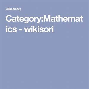 Category Mathematics
