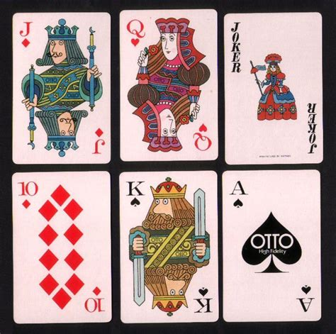 japanese playing cards otto joker playing card playing
