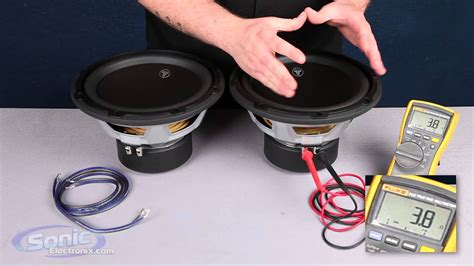 How Wire Two Single Ohm Subwoofers Final