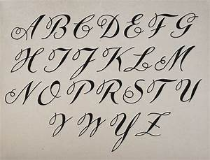 How To Write Beautiful And Stylish Calligraphy Alphabets
