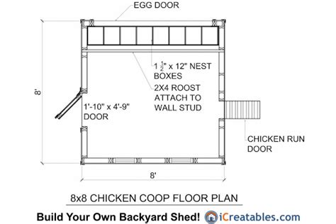 8x8 floating deck plans 8x8 chicken coop plans large chicken coop plans