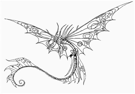 Razorwhip Dragon Coloring Page Sea Serpent Coloring Pages