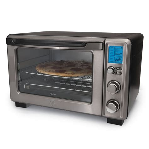 warming plates for food oster black stainless collection digital toaster oven