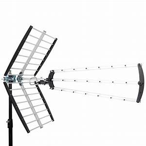 leadzm 180 mile hdtv outdoor amplified hd tv antenna With hdtv antenna template
