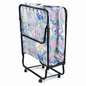 Deluxe Folding Cot with Mattress - 116785, Cots at ...