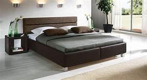 Schöne Tagesdecken Für Betten : g nstiges polsterbett in schwarzem kunstleder sanremo ~ Bigdaddyawards.com Haus und Dekorationen