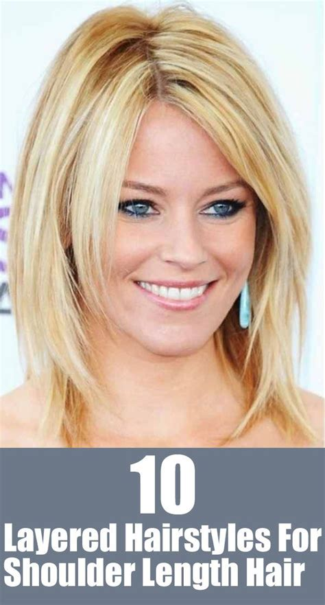 great shoulder length layered hairstyles pretty designs