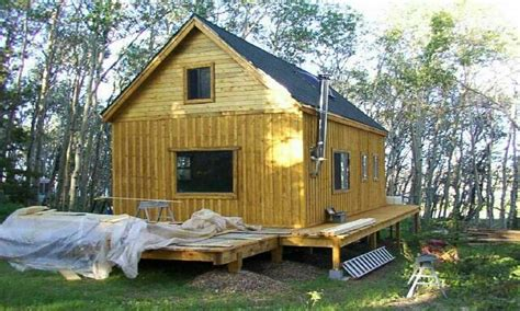 Hunting Cabin Plans Small Cabin Building Plans, Micro