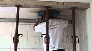 Comment Faire Une Ouverture Dans Un Mur Porteur : scie murale ouverture mur porteur voile b ton youtube ~ Melissatoandfro.com Idées de Décoration