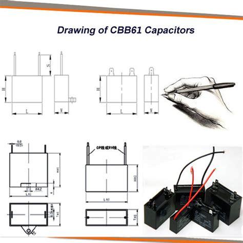 Ceiling Fan Capacitor Wiring Diagram by Fan Capacitor Cbb61 2 Wires 3 5 Uf 4 Uf 4 5 Uf 5 Uf 6 Uf 8