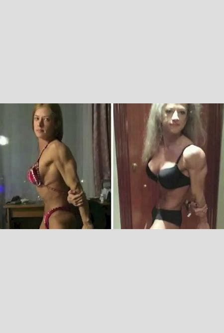 24 Year Old Girl Looks 60 After 1 Year Of Bodybuilding ...