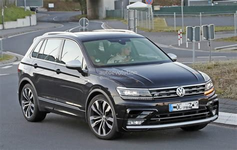 2018 Volkswagen Tiguan R Spotted At Nurburgring, Not
