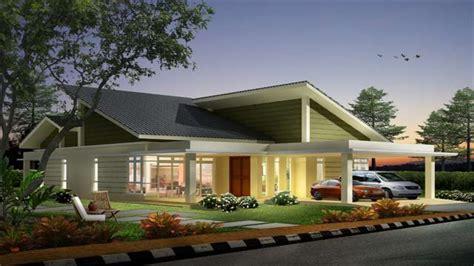 single story house designs single storey bungalow house designs single storey