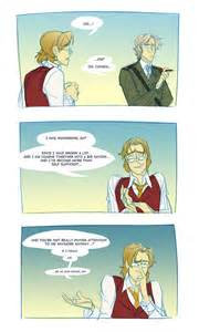 Hetalia Canada and America Comic