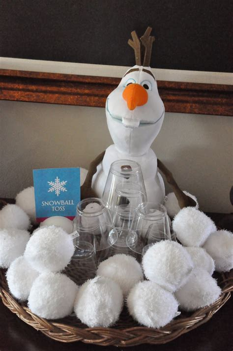 exciting frozen party games gamesandcelebrationscom