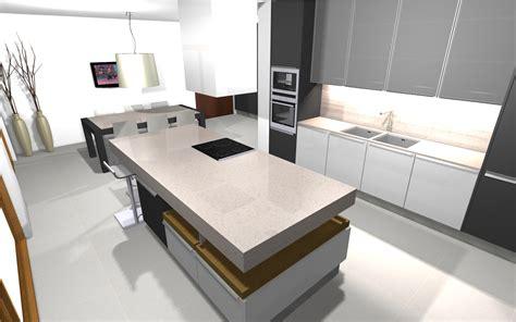 interim cuisine projet 3d photo réaliste ga inté est une entreprise