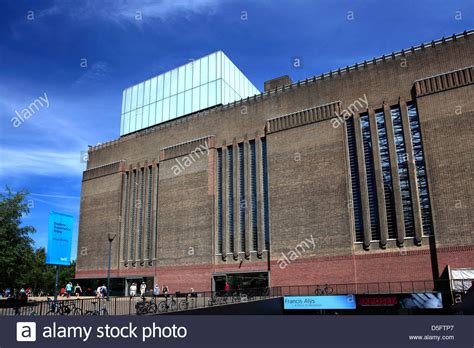 exterior of the tate modern museum south bank city stock photo royalty free image