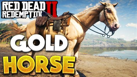 horse dead redemption rdr2 rare location gold