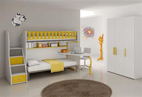 promo canapé chambre enfant complète lits superposés compact