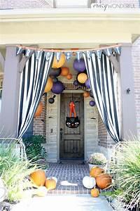 Halloween, Porch, Decorations