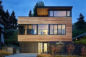 Photo Gallery  Model Of Modern Wooden Minimalist Home
