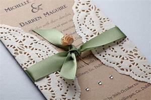 Freckled Feather Handmade Rustic & Vintage Wedding Invitations