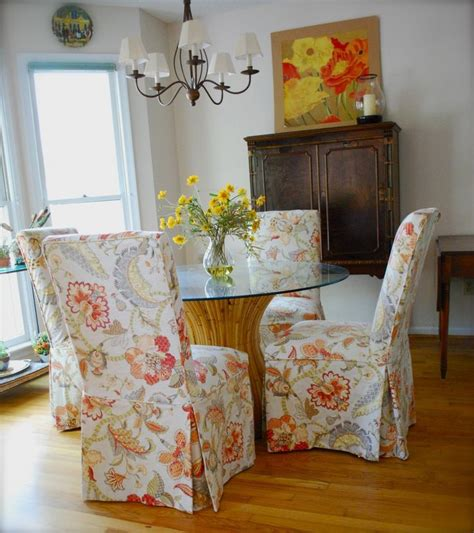 parsons chair slipcovers ideas  pinterest