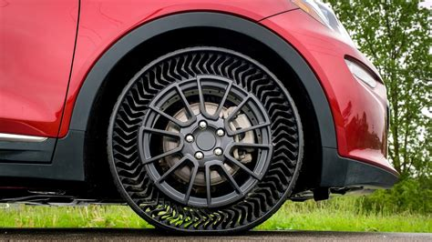 Michelin And Gm's Airless Tires For Passenger Cars To Launch Within Next Five Years