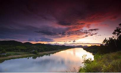 Vietnam Hue Landscape Nature Sunset Sky Wallpapers