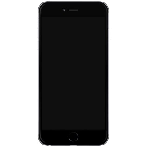 Iphone 6 Black Png