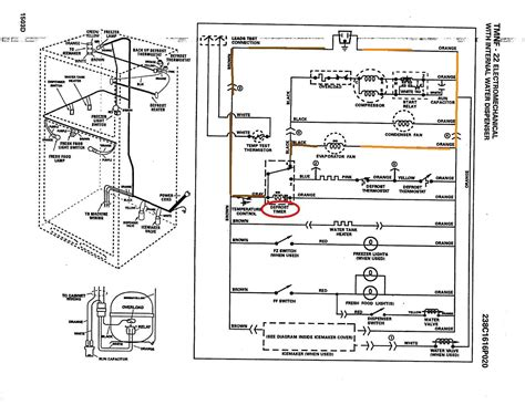 Ge Side By Side Wiring Diagram by Wire Diagram For Refrigerator Ed5phexnl00 Wiring Diagram