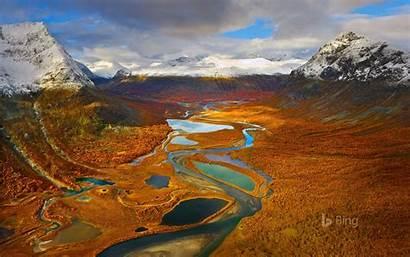 Sweden Bing Rapa Sarek Valley National Park