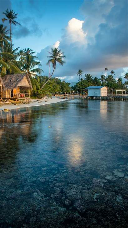 Travel Tourism Polynesia Reef French Wallpapers Iphone