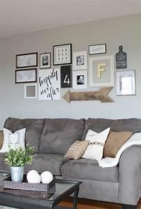 Wohnzimmer Gestalten Tipps : kreativ fotowand wohnzimmer zu hause gestalten tipps und ~ Lizthompson.info Haus und Dekorationen