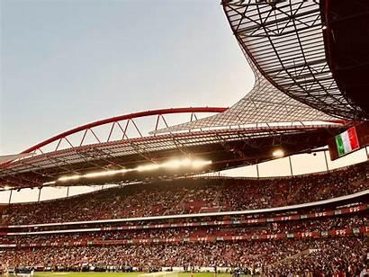 Stadium Lisbon Crowd Sky Portugal Events Sports