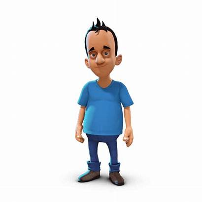 Character 3d Hello Guy Say Behance Something