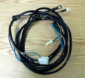 1957 Chevy Starter Wire Harness 8 Cyl With Manual