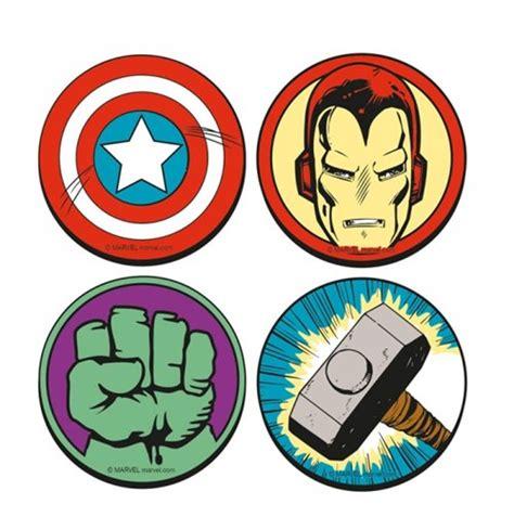 pack suporte copos marvel super heróis logos por apenas
