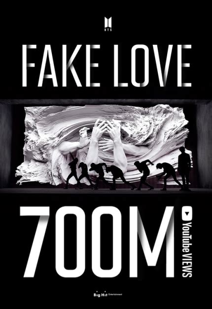 """BTS Hits 700 Million YouTube Views With """"Fake Love"""" Music ..."""