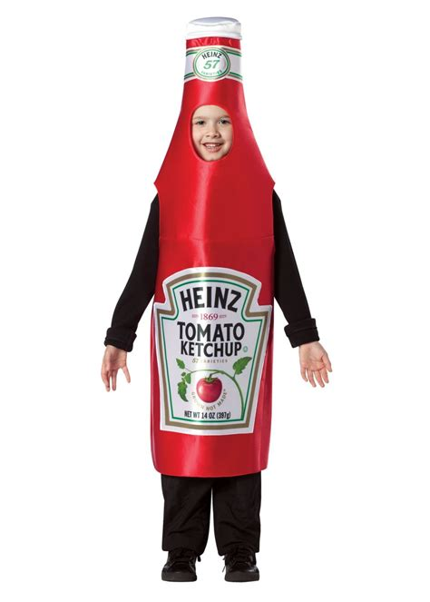 boys heinz ketchup costume food costumes