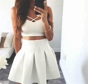 white skirt   via tumblr - image #3583647 by loren@ on ...