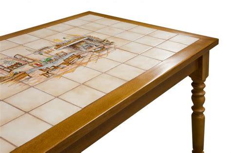 table de cuisine carrelee table rectangulaire table rectangulaire en hetre christophe corsetti noua fr mobilier made